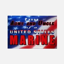 Proud Aunt & Uncle of a US Marine Magnet