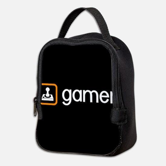 Gamer (Orange) Neoprene Lunch Bag