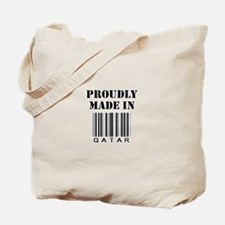 made in Qatar Tote Bag