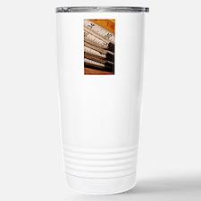 Carpenters Rulers Stainless Steel Travel Mug