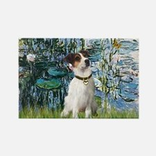Lilies / JRT Rectangle Magnet