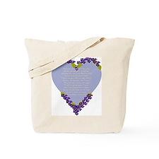 Forget Me Not Memorial Tote Bag