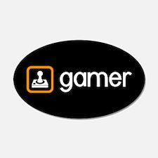 Gamer (Orange) Wall Decal