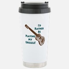 Ukulele Travel Mug