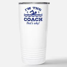 Funny Coach Travel Mug