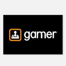 Gamer (Orange) Postcards (Package of 8)