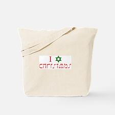 I Star Christmas Tote Bag
