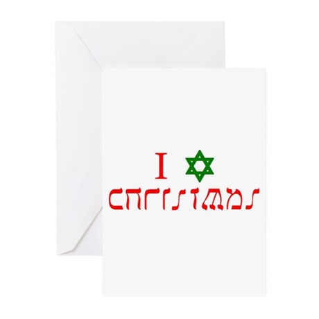 I Star Christmas Greeting Cards (Pk of 10)