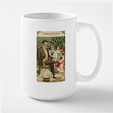 Father Playing with Kids Mugs