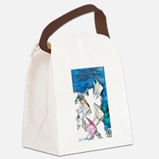 If Wishes Were Origami Fishes Canvas Lunch Bag