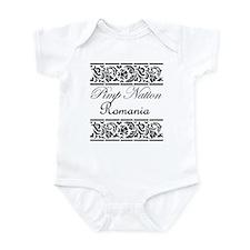 Pimp Nation Romania Infant Bodysuit