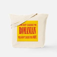 Hot Romanian Tote Bag