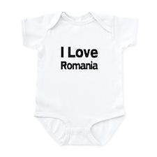 I love Romania Infant Bodysuit