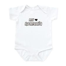 my heart Romania Infant Bodysuit
