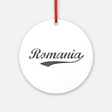 Romania flanger Ornament (Round)