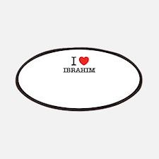I Love IBRAHIM Patch