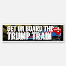 Board the Trump Train Bumper Bumper Bumper Sticker