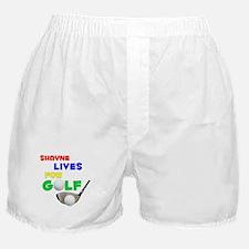 Shayne Lives for Golf - Boxer Shorts