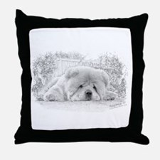 Chow Down2 Throw Pillow