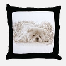Chow Down3 Throw Pillow