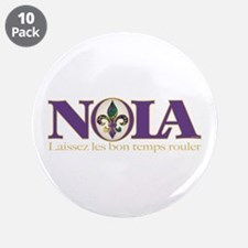 "NOLA Mardi Gras 3.5"" Button (10 pack)"