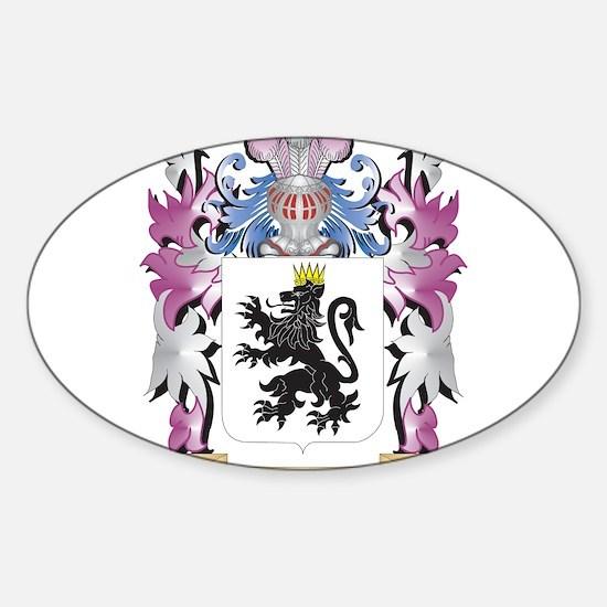 Jarrett Coat of Arms - Family Crest Decal