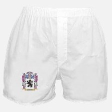 Jarrod Coat of Arms - Family Crest Boxer Shorts