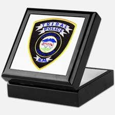 Santa Ana Tribal Police Keepsake Box