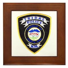 Santa Ana Tribal Police Framed Tile