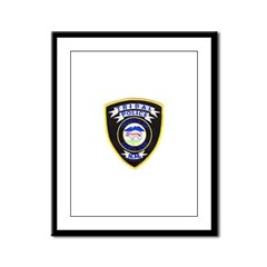 Santa Ana Tribal Police Framed Panel Print