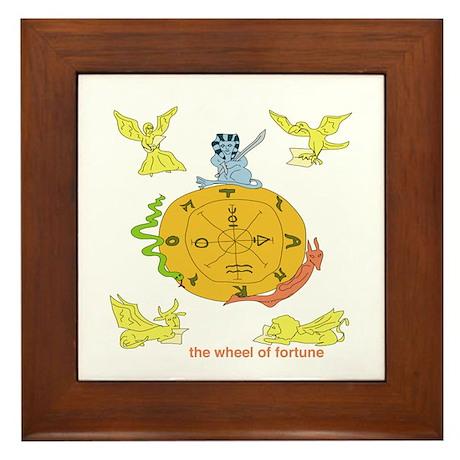 Fortune Framed Tile