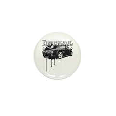 Lethal Muscle Car 1 Mini Button (10 pack)