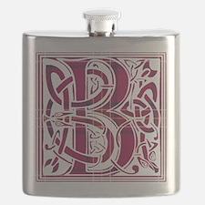 Monogram - Burnett of Leys Flask