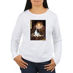 Queen/Japanese Chin T-Shirt