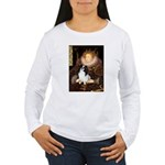Queen/Japanese Chin Women's Long Sleeve T-Shirt
