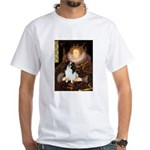 Queen/Japanese Chin White T-Shirt