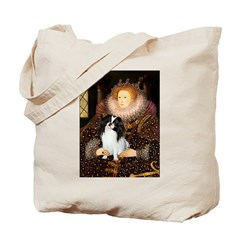 Queen/Japanese Chin Tote Bag