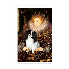 Queen/Japanese Chin Decal