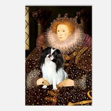 Queen/Japanese Chin Postcards (Package of 8)