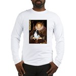 Queen/Japanese Chin Long Sleeve T-Shirt