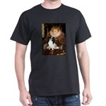 Queen/Japanese Chin Dark T-Shirt