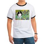 Irises/Japanese Chin Ringer T