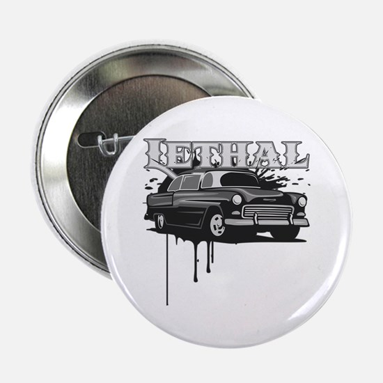 """Lethal Muscle Car 2 2.25"""" Button (10 pack)"""