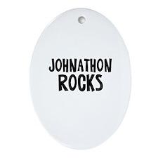 Johnathon Rocks Oval Ornament