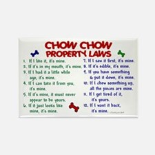Chow Chow Property Laws 2 Rectangle Magnet (100 pa