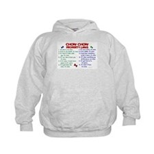 Chow Chow Property Laws 2 Hoodie