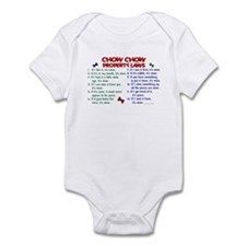 Chow Chow Property Laws 2 Infant Bodysuit