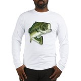 Bass fishing Long Sleeve T-shirts