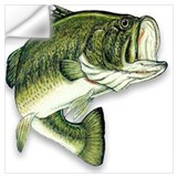Bass fishing Wall Decals