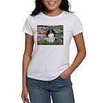 Lilies (#2)/Japanese Chin Women's T-Shirt